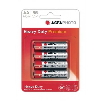 Pilas Agfa AA Blister 4ud