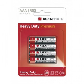 Pilas Agfa AAA Blister 4ud